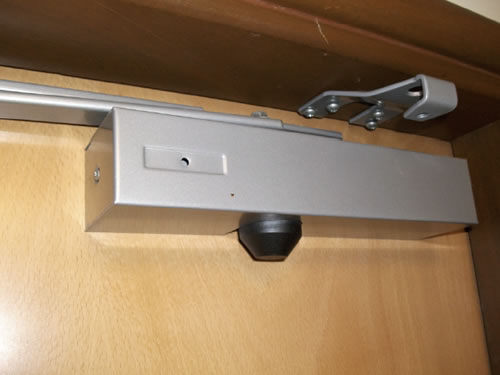 Fire door self-closer opens up new hazards