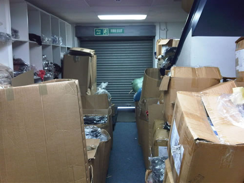 Retail outlet doesn't take stock of blocked fire exits